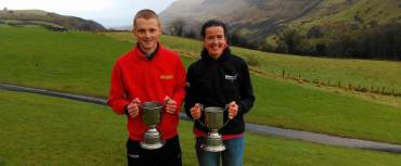 Zak Hanna and Gillian Wasson crowned King & Queen of the Glens!