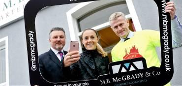 Jimmy's 10k goes Platinum withM.B. McGrady & Co sponsorship…