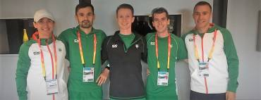 Paul Pollock and Kevin Seaward look to CWG after NI athletes impress at IAAF World HM Championships!