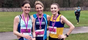 Gemma McDonald leads the way as nearly 400 athletes take on Ballymena Belles 5!