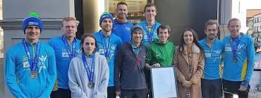 Nine 26.2 mile personal bests for Paul Pollock's #DreamRunDublin18 group!