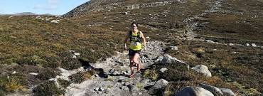 Robert Clarke and Martsje Hell claim victory at The Buzzards Roost Mountain Race 2018!