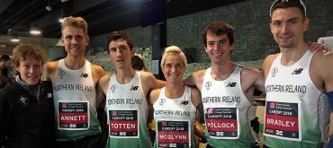 Ann-Marie McGlynn clocks significant PB as NI team perform well at Commonwealth HM Championships!