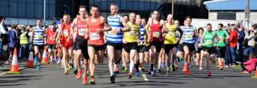 Larne AC open entries for Caterpillar Larne Half Marathon 2019!
