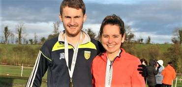 Eoin Hughes and Niamh Kelly complete Letterkenny AC double in Scotstown!