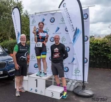 Linda's Triathlon Triumph, Scrabo Striders' News
