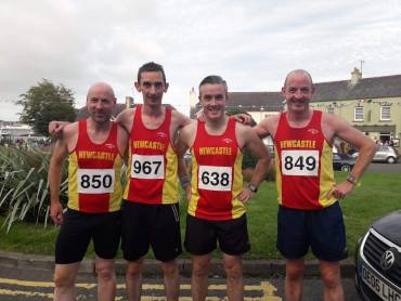 Newcastle AC at the Strangford Festival 5k and 10k
