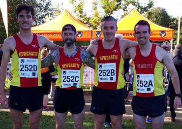 Respectful Performances for Newcastle at Road Relays