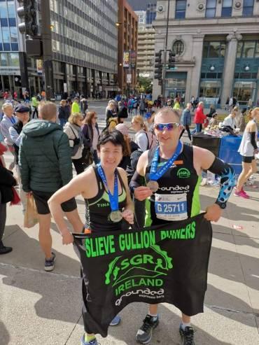 SGR Duo at Chicago Marathon