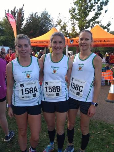 Record Breaking Weekend for County Antrim Harriers