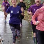 Amanda Martin 100th Park Run