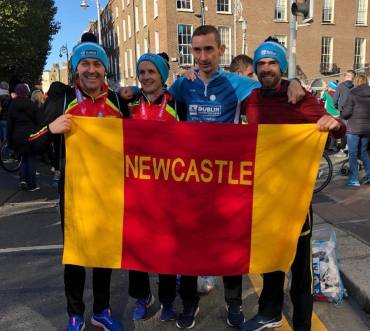 The 40th Dublin Marathon & Totten Shines in the Best Ever for Newcastle & District AC