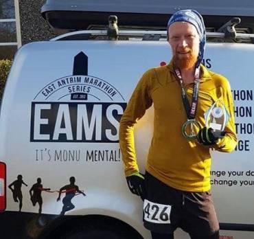 Ballydrain Weekly Report, Marathon Success for William