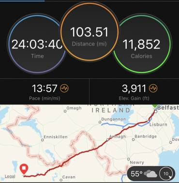 On the Run from The Crum – The Winning Route