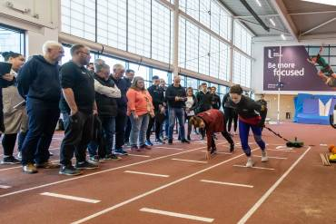 Peter Stanley & Steve Ingham Lead Athletics NI Annual Coaching Conference