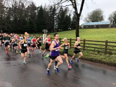 Rankin and McGlynn win Rudolph Run 10k with Record Times