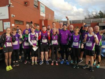 Scrabo Striders compete at Loughgall and Seeley