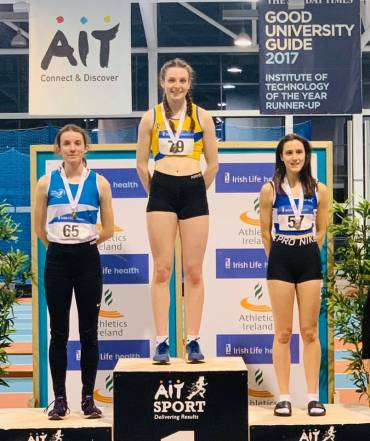 Gold for McCann at the National Indoor Championships