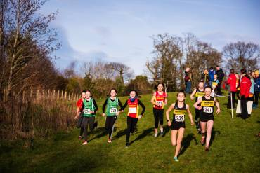 McGrady Financial Services Junior XC at Delamont Country Park