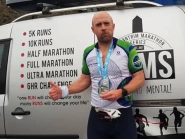 Richard Coey 1st EAMS Marathon…The Weekly News from Ballydrain