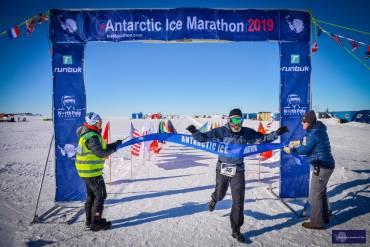 Antarctic Ice Marathon 2019 by Sean O'Hagan