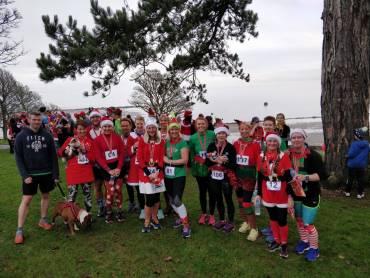 Festive Miles for County Antrim Harriers