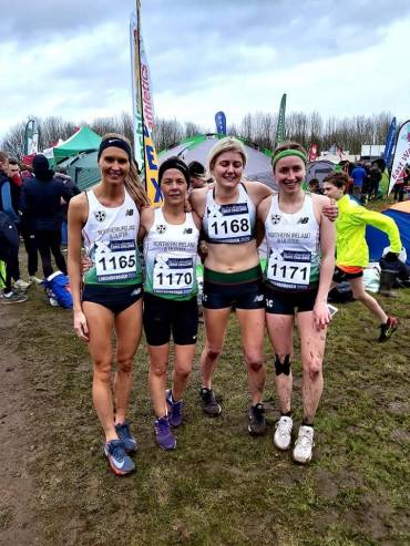 National Vests and Personal Bests for North Down Athletes