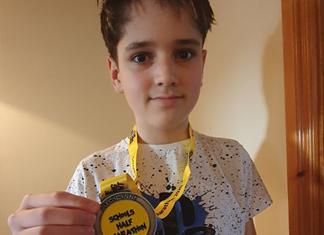 Karim Jaidane completes the Schools Half Marathon Virtual Event