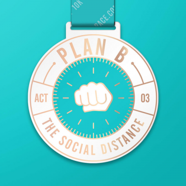 Team Up With Your Running Buddies – The New Plan B Charity Virtual Run