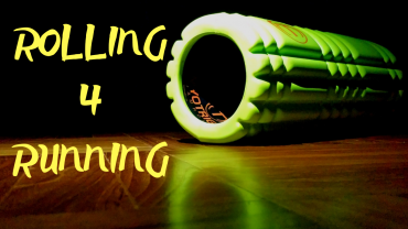 A runners' foamrolling and stretch routine. Running tips. Backballer. Trigger point. New runners.