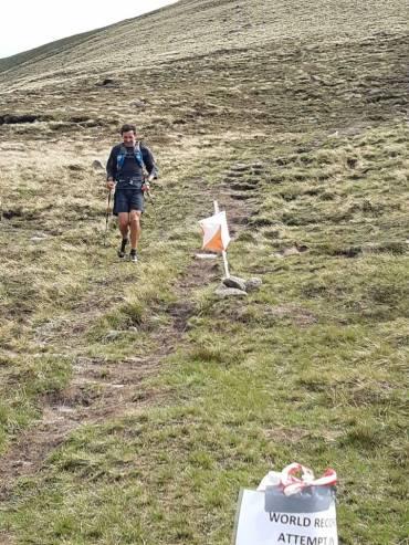 Bailey breaks the World Everesting Running Record