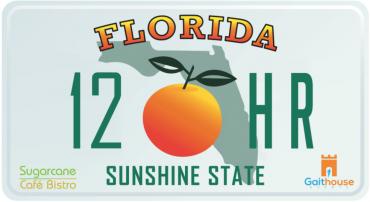 *REGISTRATION* The Sugarcane Cafe Bistro, Florida 12 Hour Challenge