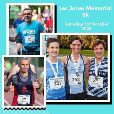 Les Jones Memorial 5k – Podium & Category