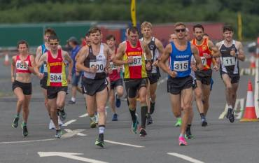 Fast road racing at the new 'Balmoral' with plenty of PBs