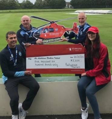 BallydrainHarriers Raise Funds for Air Ambulance fromthe Race That Never Was!