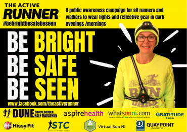 THE ACTIVE RUNNER SAFETY CAMPAIGN#bebrightbesafebeseen
