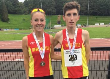 Bronze is the Colour of the Day at NI & Ulster Track Championships