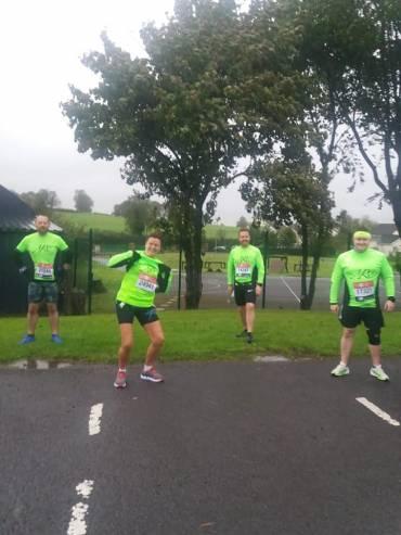 Maguiresbridge Running Club Virtual London Marathon