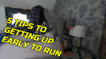 Tips to getting up earlier to get your run out of the way