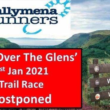 Race Over The Glens Trail Race Postponed