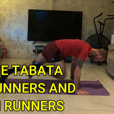 Home Tabata workouts for runners, cyclists, gym enthusiasts and almost anyone else.