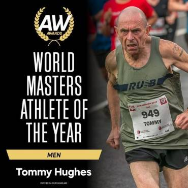 Tommy Hughes – Athletics Weekly World Masters Athlete of the Year