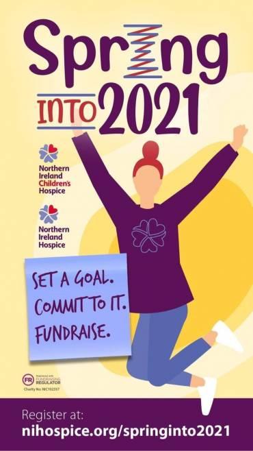 NI Hospice Spring Into 2021 Campaign