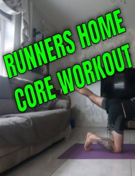 Runners Home Core Workout
