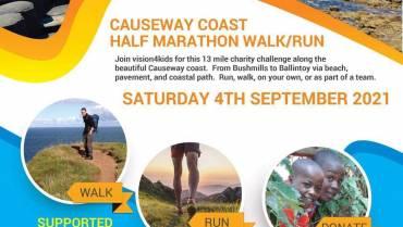 Causeway Coast Half Marathon Walk/Run