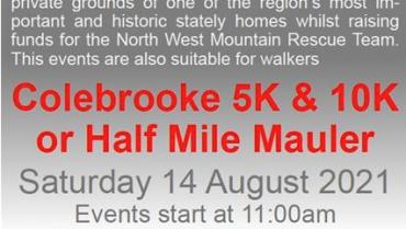 Colebrooke 5k 10k and Half Mile Mauler